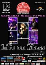Concert Life on Mars în Music Hall din Bucureşti