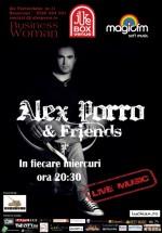 Concert Alex Porro & Friends în Jukebox Venue din Bucureşti