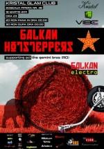 Balkan Hotsteppers şi The Gemini Bros în Kristal Glam Club din Bucureşti