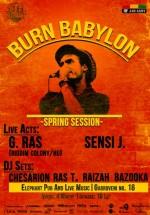 """""""Burn Babylon Spring Session"""" în Elephant Pub din Bucureşti"""