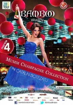 Fashion Night – Mumm Champagne Collection în Club Bamboo din Braşov