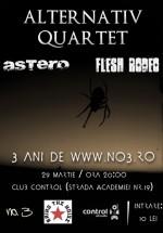 Concert Alternativ Quartet în Club Control din Bucureşti