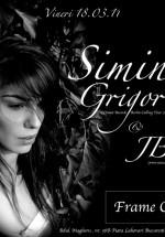 Simina Grigoriu & JBD în Frame Club din Bucureşti