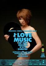 I Love Music în Elephant Pub din Bucureşti
