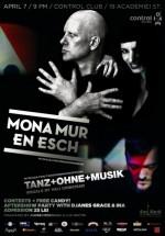 Concert Mona Mur & En Esch în Club Control din Bucureşti