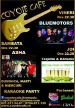 Concerte şi petreceri în Coyote Cafe din Bucureşti