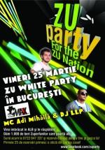 """ZU White Party"" în Club Maxx din Bucureşti"
