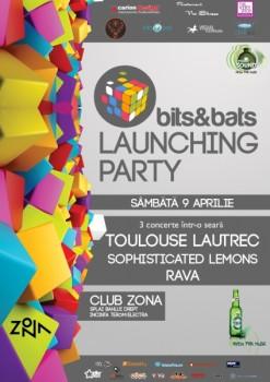 bits&bats launching party în Club Zona din Iaşi