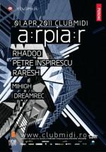 Rhadoo, Petre Inspirescu şi Raresh în Club Midi din Cluj-Napoca