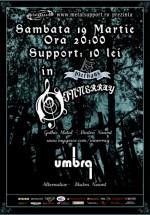 Concert Innerray şi Umbra în Bierhaus din Piatra Neamţ