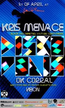 Kris Menace în La Blanca Pure Club din Bucureşti