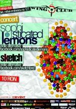 Concert Sophisticated Lemons în Wings Club din Bucureşti