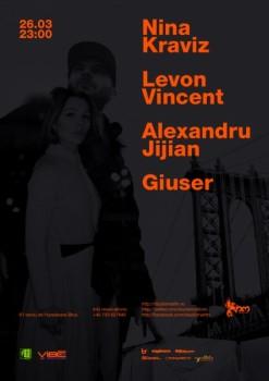 Nina Kraviz şi Levon Vincent în Studio Martin din Bucureşti