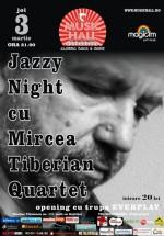Mircea Tiberian Quartet în Music Hall din Bucureşti