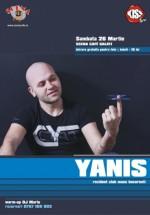 Yanis în Scena Cafe din Galaţi