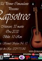 Concert Rapsotree în Club El Primer Comandante din Bucureşti