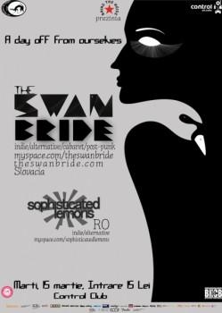 Concert The Swan Bride în Club Control din București