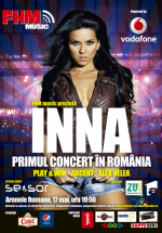 Concert INNA la Arenele Romane din Bucureşti