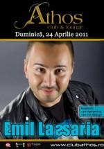 Emil Lassaria în Club Athos din Baia Mare