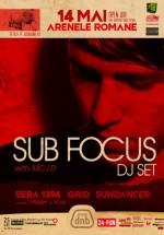 Sub Focus DJ Set la Arenele Romane din Bucureşti