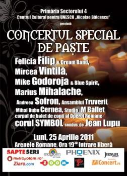 Concert special de Paste 252x350 Concert Special de Paşte la Arenele Romane din Bucureşti