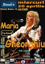 Concert Maria Gheorghiu în Sinner's Club din Bucureşti