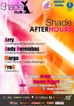Arry & Andy Herembas în Club Shade din Bucureşti