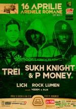 Trei, Sukh Knight şi P-Money la Arenele Romane din Bucureşti