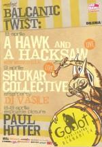 A Hack and a Hacksaw & Shukar Collective la Godot Café-Teatru din Bucureşti
