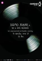 Concert Damo Suzuki şi Nu & Apa Neagră în Club Control din Bucureşti