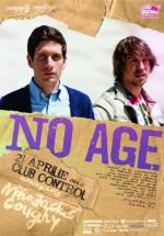Concert No Age în Club Control din Bucureşti