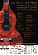 """Festival Internaţional de Chitară Clasică """"Terra Siculorum"""" 2011"""