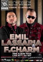 Emil Lassaria & F.Charm în Season Club din Oneşti