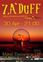 Concert Za` Duff în Wings Club din Bucureşti