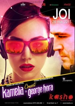 Concert Kamelia şi George Hora în Kasho Club din Braşov