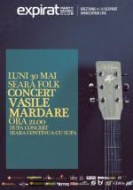 Seara Folk: Concert Vasile Mardare în Club Expirat din Bucureşti