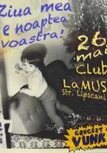 Concert Vunk & Friends în Club La Muse din Bucureşti
