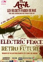 Concert Electric Fence în The Ark din Bucureşti