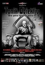 Concert Tonik Obiektiv în Wings Club din Bucureşti