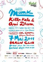 Munk, Killa Kela & Ami Drum în Berlin Club din Bucureşti