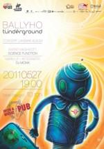 Concert Tunderground în Irish & Music Pub din Cluj-Napoca