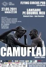 Concert Camuflaj în Flying Circus Pub din Cluj-Napoca