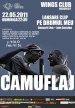 Concert Camuflaj în Wings Club din Bucureşti