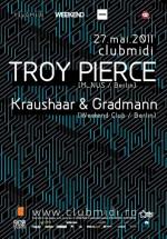 Troy Pierce la Club Midi din Cluj-Napoca