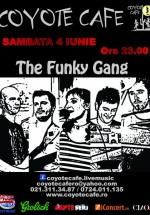 Concert The Funky Gang în Coyote Cafe din Bucureşti