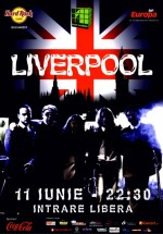 Concert Liverpool în Hard Rock Cafe din Bucureşti