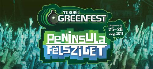 S-au pus în vânzare biletele pentru Tuborg Green Fest Peninsula 2011