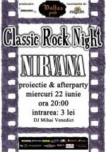 Classic Rock Night cu Nirvana în Dallas Pub din Botoşani