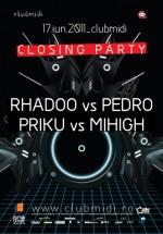 Rhadoo vs Pedro în Club Midi din Cluj-Napoca