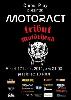 Tribute to Motorhead în Club Play din Craiova